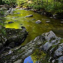 Wild Brook in Vermont's Green Mountains.  Eden, Vermont.