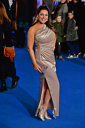 © Licensed to London News Pictures. 12/12/2018. London, UK. KELLY BROOK attends attends the Mary Poppins Returns European film premiere held at the Royal Albert Hall. Photo credit: Ray Tang/LNP