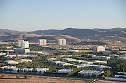 Irvine Spectrum And Businesses With A View Of Saddleback Mountains