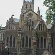 Southwark Cathedral on 18 July 2019, City of London, UK.