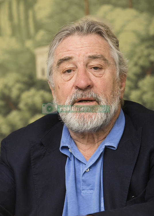 December 4, 2016 - New York, New York, U.S. - ROBERT DE NIRO promotes the movie 'The Comedian.' Robert Anthony De Niro (born August 17, 1943, New York) is an American actor and producer who has both Italian and American citizenship. He was cast as the young Vito Corleone in the 1974 film The Godfather Part II, for which he won the Academy Award for Best Supporting Actor. His longtime collaboration with director Martin Scorsese earned him the Academy Award for Best Actor for his portrayal of Jake La Motta in the 1980 film Raging Bull. He received the AFI Life Achievement Award in 2003, the Golden Globe Cecil B. DeMille Award in 2010De Niro has earned four nominations for the Golden Globe Award for Best Actor, Motion Picture Musical or Comedy, for his work in the musical drama New York, New York (1977), the action comedy Midnight Run (1988), the gangster comedy Analyze This (1999), and the comedy Meet the Parents (2000). Other notable performances include roles in Once Upon a Time in America (1984), Brazil (1985), The Untouchables (1987), Heat (1995), Casino (1995), Cop Land (1997), Jackie Brown (1997) and Machete (2010). He has directed and starred in films such as the crime drama A Bronx Tale (1993), and the spy film The Good Shepherd (2006). Upcoming: The Irishman (2018), Untitled De Niro, Ramirez, Jakubowicz Project (2017), Untitled Edgardo Mortara Project (2017), The War with Grandpa (2017, rumored), Honeymoon with Harry (announced) (rumored), The Comedian (2016). (Credit Image: © Armando Gallo via ZUMA Studio)
