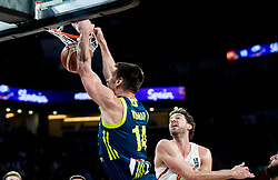 Gasper Vidmar of Slovenia vs Pau Gasol of Spain during basketball match between National Teams of Slovenia and Spain at Day 15 in Semifinal of the FIBA EuroBasket 2017 at Sinan Erdem Dome in Istanbul, Turkey on September 14, 2017. Photo by Vid Ponikvar / Sportida
