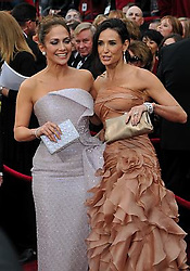Mar 07, 2010 - Hollywood, California, USA - JENNIFER LOPEZ and DEMI MOORE arrives on the red carpet at the 82nd Annual Academy Awards held at the Kodak Theater. (Credit Image: © John McCoy/Los Angeles Daily News/ZUMA Press)