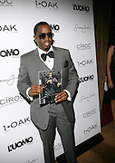 """Sean """" Diddy """" Combs pictured at the cocktail party celebrating Sean """"Diddy"""" Combs appearance on the """" Black on Black """" cover of L'Uomo Vogue's October Music Issue"""