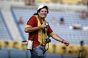 ©Javier Calvelo/ URUGUAY/ MONTEVIDEO/ CAMPEONATO URUGUAYO 2007-08<br /> TORNEO CLAUSURA/  TORNEO CLAUSURA/ QUINTA FECHA/ PEÑAROL 6:0 BELLA VISTA/ Peñarol venció a Bella Vista 6:0 en el Estadio Centenario.<br /> En la foto: Guillermo Bohm en el Estadio Centenario. Foto: Javier Calvelo /  adhocFOTOS<br /> 2008-03-16 dia domingo