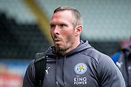 caretaker Manager of Leicester City, Michael Appleton arrives at the Stadium. Premier league match, Swansea city v Leicester city at the Liberty Stadium in Swansea, South Wales on Saturday 21st October 2017.<br /> pic by Aled Llywelyn, Andrew Orchard sports photography.