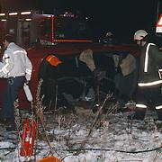 Ongeval met beknelling Randweg