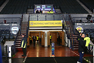 GV before the UEFA Nations League match between Scotland and Israel at Hampden Park, Glasgow, United Kingdom on 20 November 2018.