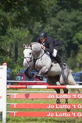 Geerts Luc (BEL) - Gentleman<br /> Nationaal Kampioenschap Jonge Paarden Merksplas 2011<br /> © Dirk Caremans