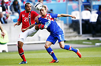 Fotball 2. juni 2012 , Privatkamp, Norge - Kroatia<br /> Norway - Croatia 1-1<br /> <br /> <br /> Daniel Braaten , Norge<br /> Ivan Rakitic , Kroatia
