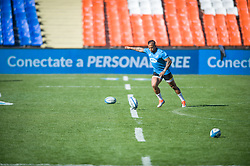 August 24, 2018. Malvinas Argentinas Stadium, Mendoza, Argentina.<br /> ELTON JANTJIES warming up during captain run session.