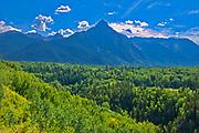 Hazelton Mountains of the Coast Mountains, Near Kispiox, British Columbia, Canada