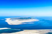 Nederland, Friesland, Terschelling, 05-07-2018; West-Terschelling gezien vanaf zandplaat De Richel (vanuit het Westen).<br /> West-Terschelling seen from the Richel sandbar (from the West).<br /> luchtfoto (toeslag op standard tarieven);<br /> aerial photo (additional fee required);<br /> copyright foto/photo Siebe Swart