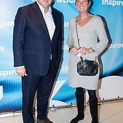 NLD/Amsterdam/20161004 - Wereldpremiere van Inspiration360 2016, Aad Ouborg en partner Dorien Bey
