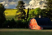 Red Barn near Victor, Montana.