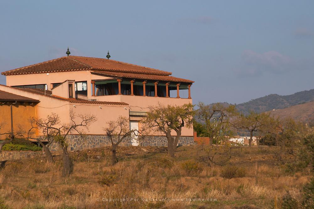 Winery building. Clos de l'Obac, Costers del Siurana, Gratallops, Priorato, Catalonia, Spain.