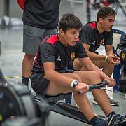 MALE U15 500mtr Race #23  02:45pm<br /> <br /> www.rowingcelebration.com Competing on Concept 2 ergometers at the 2018 NZ Indoor Rowing Championships. Avanti Drome, Cambridge,  Saturday 24 November 2018 © Copyright photo Steve McArthur / @RowingCelebration