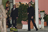King Felipe VI of Spain, Fernando Gomez-Acebo attends Princess PIlar Borbon funeral chapel  installed in the Gomez-Acebo house on January 8, 2020 in Madrid, Spain