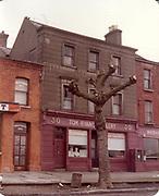 Old amateur photos of Dublin streets churches, cars, lanes, roads, shops schools, hospitals, Tom Ryan's