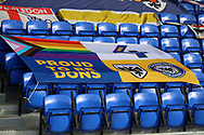 Dons for diversity banner during the EFL Sky Bet League 1 match between AFC Wimbledon and Bristol Rovers at Plough Lane, London, United Kingdom on 5 December 2020.