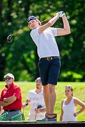 Lukas Philipp Hoellige of Slovenia during Slovenia Long Drivers European Tour  Championship on July 5, 2014 in  Golf Arboretum Ljubljana, Volcji Potok, Slovenia. Photo By Vid Ponikvar / Sportida