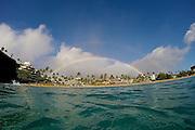 Rainbow over the Shereton Maui