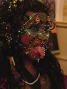 Elaine Davidson the most pierced woman, 50th Anniversary Party of the Guinness Book of World Records, November 16, 2004 - The Royal Opera House London, Great Britain<br />
