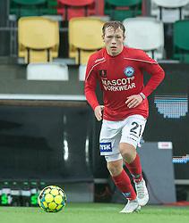 Anders Klynge (Silkeborg IF) under kampen i 1. Division mellem Silkeborg IF og FC Helsingør den 21. november 2020 i JYSK Park (Foto: Claus Birch).