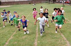 Junior school sports day,