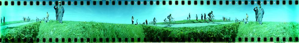 Lomo Spinner images at Paris Roubaix race. 2011