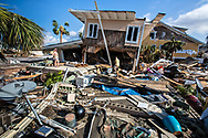 Jannel<br /> and Jeffery Lock recover what they can from their home in Mexico Beach, Florida that was destroyed by Hurricane Michael.