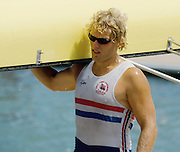 St Catherines, CANADA.  NOR M4-,  Steffen STOERSETH, 1999 World Rowing Championships. Ontario. [Mandatory Credit Peter SPURRIER/ Intersport Images] 1999 FISA. World Rowing Championships, St Catherines, CANADA