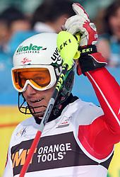 Manfred Pranger at 9th men's slalom race of Audi FIS Ski World Cup, Pokal Vitranc,  in Podkoren, Kranjska Gora, Slovenia, on March 1, 2009. (Photo by Vid Ponikvar / Sportida)