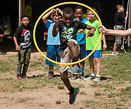 Middletown, New York - Fun and games at the YMCA of Middletown's Camp Funshine  on Aug.16, 2017.