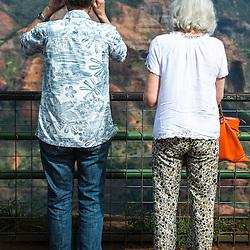 Tourists, Waimea Canyon, Hawaii