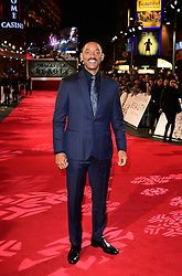 Will Smith attending the European premiere of Collateral Beauty, held at the Vue Leicester Square, London.