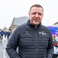 Gino Van Oudenhove under starten i Lyngdal av Tour of Norway sykkelritt etappe 2: Lyngdal - Kristiansand.