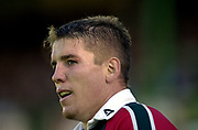 Leicester, 13th September 2003, Zurich Premiership Rugby,  Welford Road, <br /> [Mandatory Credit; Peter Spurrier/Intersport Images]<br /> Zurich Premiership Rugby - Leicester Tigers v London Irish.<br /> Dan Lyle