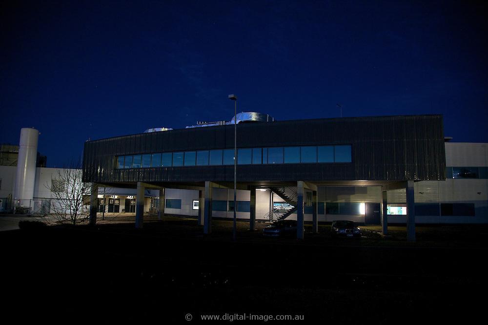 Office Pod at the Australian Synchrotron, exterior view