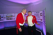 HARRY WESTROPP; RICHARD MORLEY, Quorn Hunt Ball, Stanford Hall. Standford on Soar. 25 January 2014