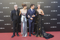 May 29, 2017 - Madrid, Madrid, Spain - Tom Cruise, Annabelle Wallis, Sofia Boutella, Alex Kurtzman attended 'The Mummy' film premiere at Callao Cinema on May 29, 2017 in Madrid (Credit Image: © Jack Abuin via ZUMA Wire)