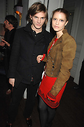 SARO WEVER and ANGELA WEVER at a party to promote The Landau at The Langham, Portland Place, London W1 on 7th February 2008.<br /><br />NON EXCLUSIVE - WORLD RIGHTS