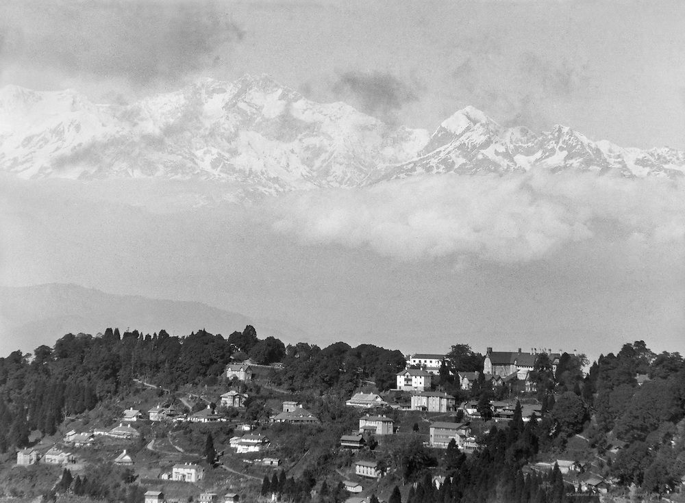 Mt. Kangchenjunga, Darjeeling, India, 1929