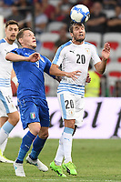 Nice (Francia) 07-06-2017 Stadio Allianz Riviera Friendly match Italia - Uruguay / Italy - Uruguay foto Image Sport/Insidefoto<br /> nella foto: Alvaro Gonzales-Andrea Belotti