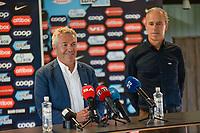 Fotball , 8. august 2020 , ny Brann - trener Kåre Ingebrigtsen og sportslig leder Rune Soltvedt