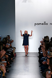Model walks on the runway during the Pamella Roland New York Fashion Show during New York Fashion Week Spring Summer 2018 in New York, NY on September 6, 2017. (Photo by Jonas Gustavsson/Sipa USA)