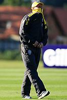 20090604: TERESOPOLIS, BRAZIL - Brazil National Team preparing match against Uruguay. In picture: coach Dunga. PHOTO: CITYFILES