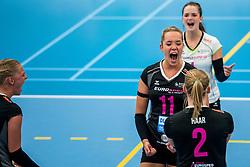 29-09-2018 NED: Supercup Sliedrecht Sport - Eurosped, Sliedrecht<br /> Sliedrecht takes the first price of the new season / Celine Keijsers #11 of Eurosped