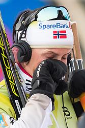 April 6, 2018 - Alta, NORWAY - 180406 Marit BjÂ¿rgen cries after the Women's 5 km Classic during the Norwegian Championship on April 6, 2018 in Alta..Photo: Jon Olav Nesvold / BILDBYRN / kod JE / 160235 (Credit Image: © Jon Olav Nesvold/Bildbyran via ZUMA Press)
