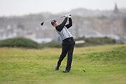 4th October 2017, The Old Course, St Andrews, Scotland; Alfred Dunhill Links Championship, practice round; Connor Syme of Scotland plays from the rough on the fifth hole on the Old Course, St Andrews during a practice round before the Alfred Dunhill Links Championship